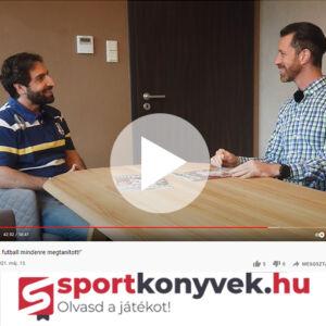Hrutka János Interjú sportkonyvek.hu
