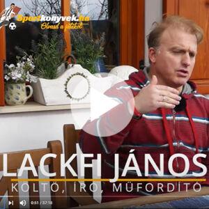 Lackfi János interjú Sportkonyvek.hu