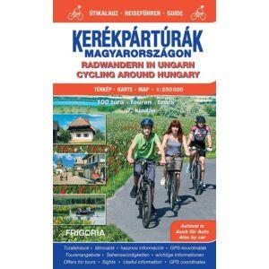 Kerékpártúrák Magyarországon - Útikalauz (1:250000)