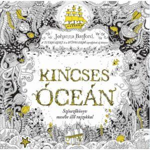 Kincses Óceán  Színezőkönyv mesébe illő rajzokkal      Johanna Basford