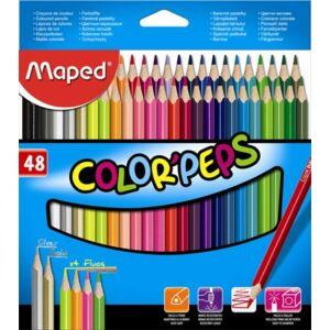 Maped Color'peps háromszögletű színes ceruza készlet  48db-os