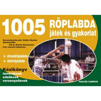 1005 röplabda játék és gyakorlat - Kézikönyv tanároknak, edzőknek, versenyzőknek