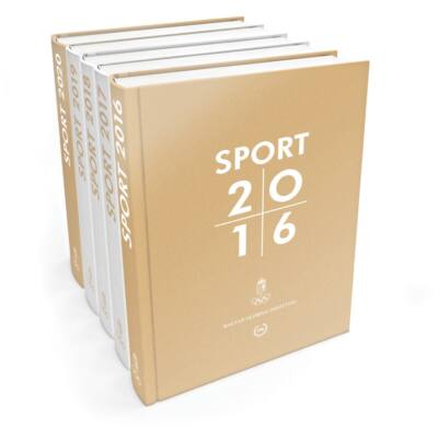 Sport 2016 évkönyv + 2015 évkönyv