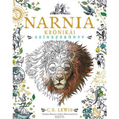 Narnia krónikái - Színezőkönyv - Pauline Baynes eredeti illusztrációival