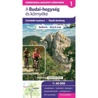 Budai-hegység és környéke kerékpáros és turistatérkép  1:42 000
