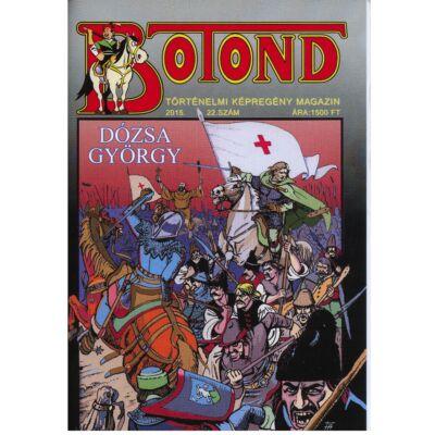 Botond Dózsa György történelmi képregény magazin