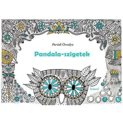 Pandala-szigetek    Felnőtt színezőkönyv