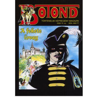 Botond     A fekete lovag   Történelmi képregény magazin