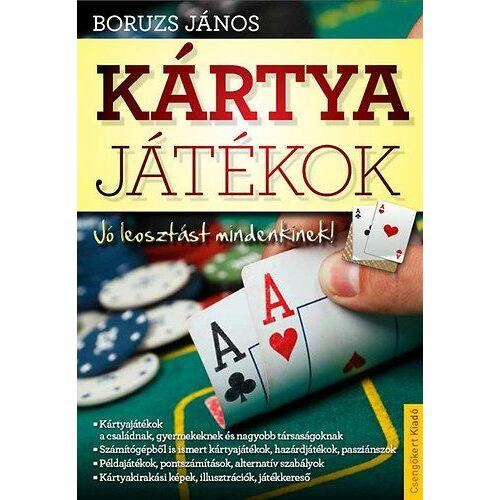 Kártyajátékok - Társasjátékok könyve