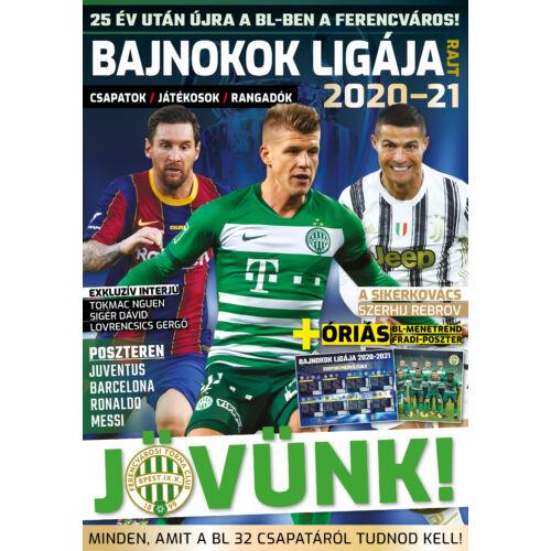 Bajnokok Ligája-rajt 2020-21 magazin (Panini-kártyákkal)
